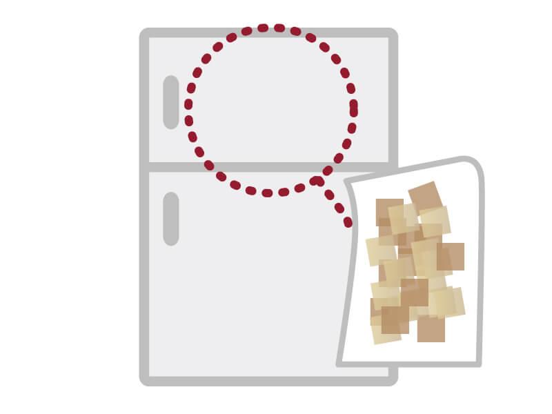 残った削り節の保存方法